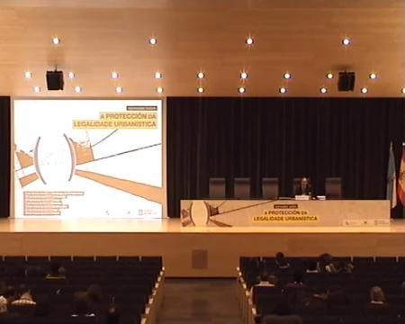 Juan Jesús Raposo Arceo, Profesor titular da Universidade da Coruña. Ponencia Pontevedra. - Xornada sobre a Protección da Legalidade Urbanística